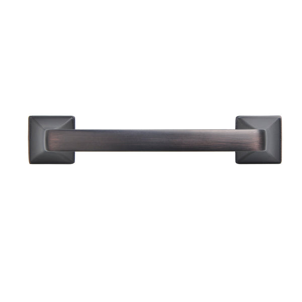 "Brax Cabinet Pull Handle, Oil Rubbed Bronze, 4"" or 5"" Center to Center - Loft97 - 7"