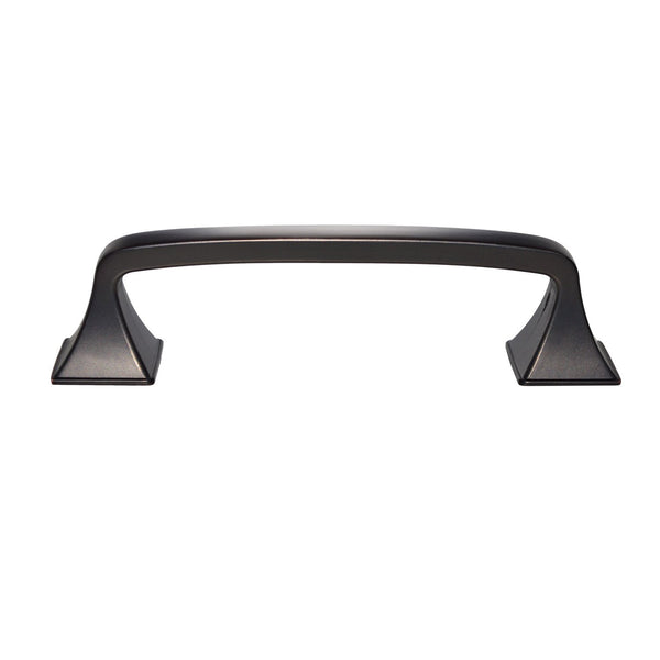 "Brax Cabinet Pull Handle, Oil Rubbed Bronze, 4"" or 5"" Center to Center - Loft97 - 9"