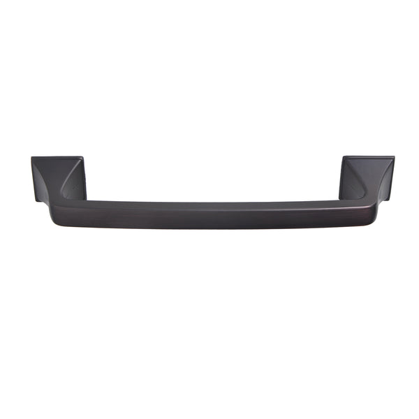 "Loft97 Brax Cabinet Pull Handle, 5"" Center to Center, Oil Rubbed Bronze"