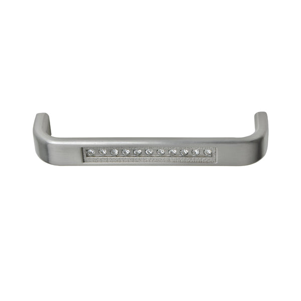"Loft97 Gleam Cabinet Pull, 3.75"" Center to Center, Brushed Nickel"