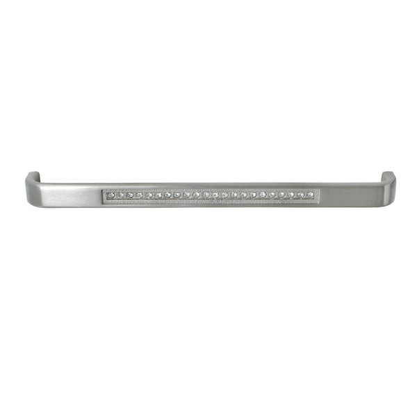 "Loft97 Gleam Cabinet Pull, 7 1/2"" Center to Center, Brushed Nickel"