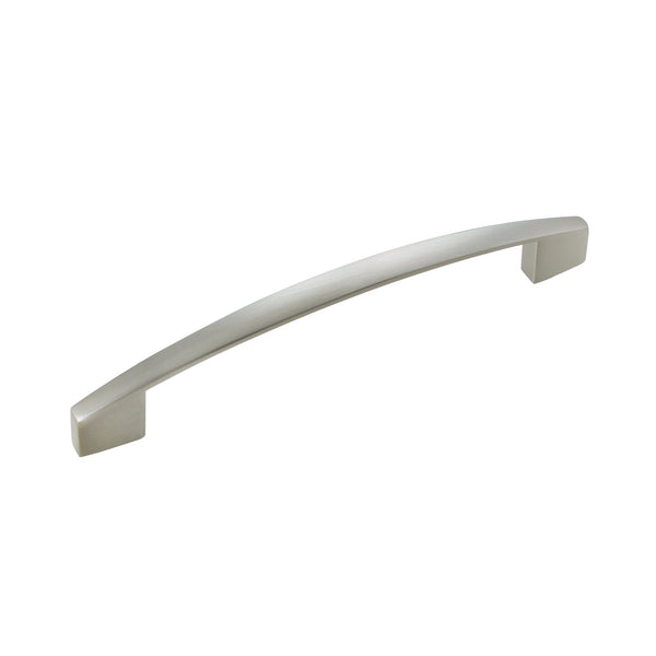 "Loft97 Apollo Cabinet Pull, 5.1"" Center to Center, Brushed Nickel"