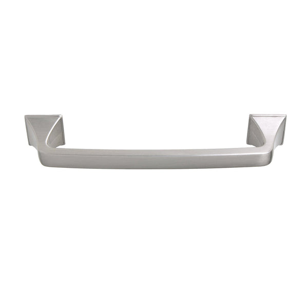 "Brax Cabinet Pull Handle, Brushed Nickel, 4"" or 5"" Center to Center - Loft97 - 3"