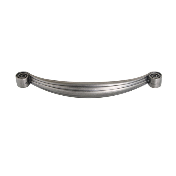 "Loft97 Whitton Cabinet Pull, 5.1"" Center to Center, Pewter"