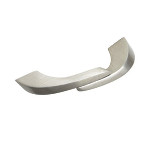 "Criss Pull Cabinet Handle, Brushed Nickel, 2.5"" or 4"" Center to Center - Loft97 - 2"