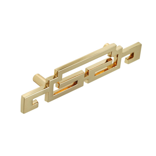 "Loft97 Steffi Cabinet Pull, 2.5"" Center to Center, Polished Gold"