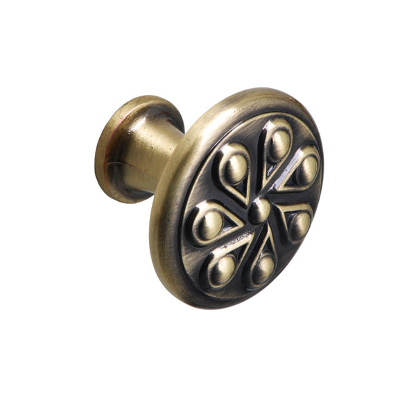 Ciel Antique Brass Cabinet Knob - Loft97 - 4