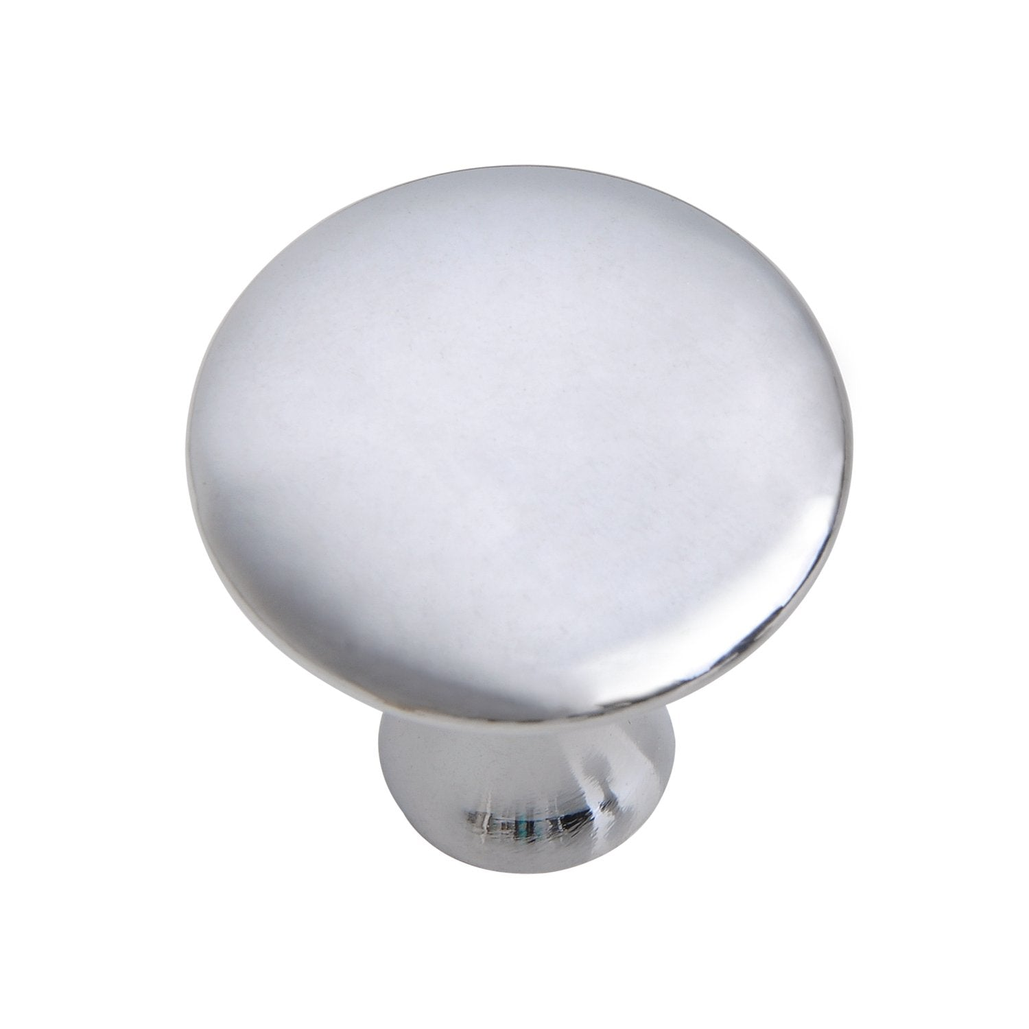 "Loft97 Charlton Cabinet Knob, 1.2"" Diameter, Polished Chrome"