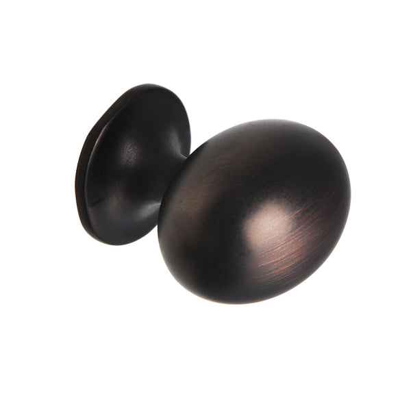 "Loft97 Danbury Oval Cabinet Knob, 1.3"", Oil Rubbed Bronze"