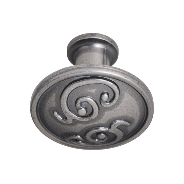 "Roma Cabinet Knob, Pewter, Brass, or Bronze, 1.25"" - Loft97 - 9"