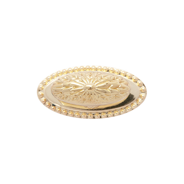 "Loft97 Megan Gold Ring Cabinet Pull,  1.9"" Diameter"