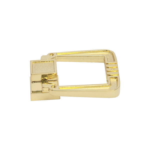 "Utopia Alley Beau Polished Chrome/Gold Ring Cabinet Pull,  1.25"" Diameter"