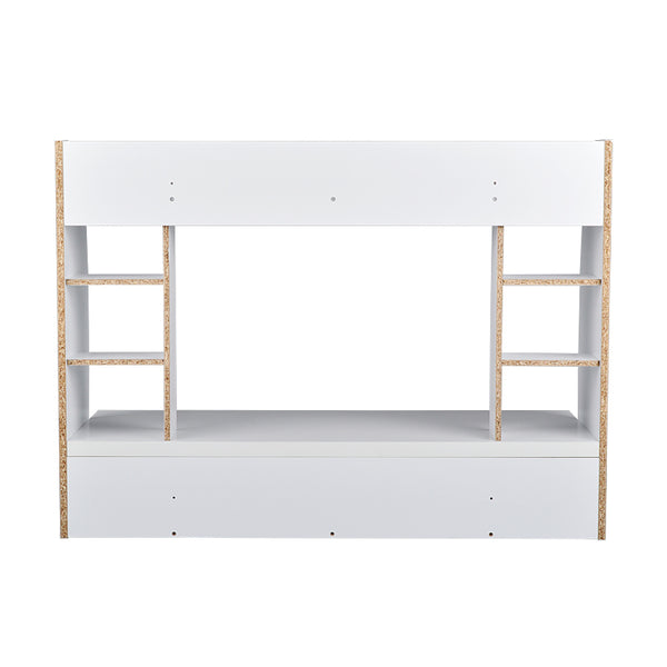 Loft97 Mealamine Floating Wall Mount Desk, White