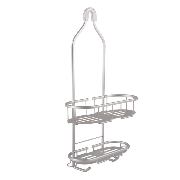 Loft97 Aluminum Rustproof Shower Caddy, 2 Shelf