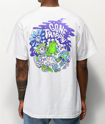 Polera A-Lab® Gone Trippin White T-Shirt