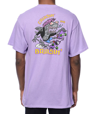 Polera A-Lab® Cruisin n Brusin Purple T-Shirt
