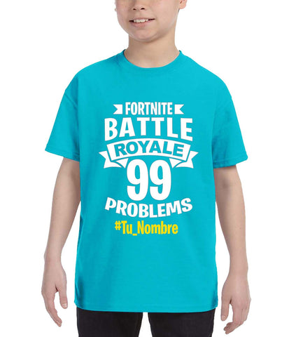 Polera fortnite Battle Royale Personalizada Step Kolors