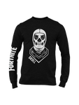 Polera Manga Larga Fortnite Skull Trooper Niños