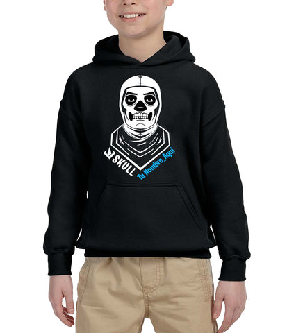 Polerón Fortnite Skull Trooper Personalizado