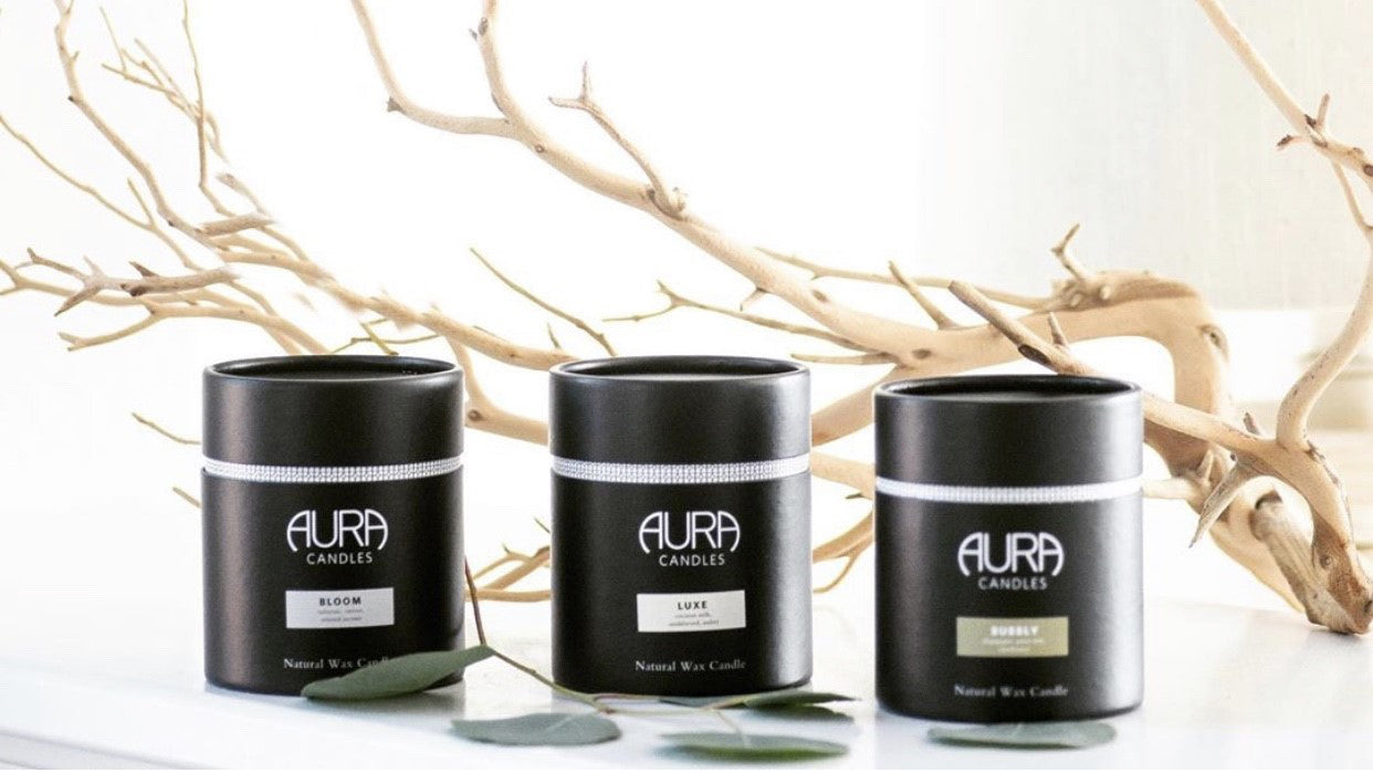 Delivered with Personality & Style: Aura Candles