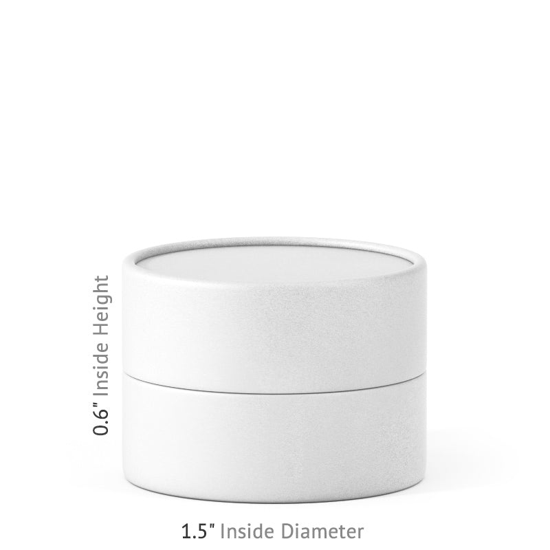 0.5 oz Paper Jar - White