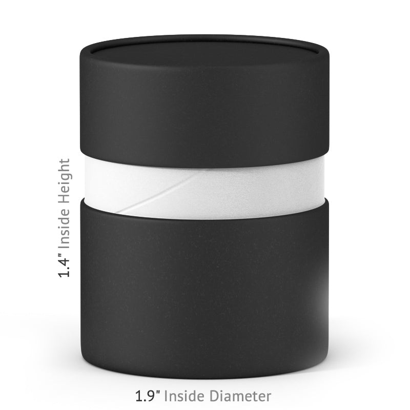 2 oz Paper Jar - Black