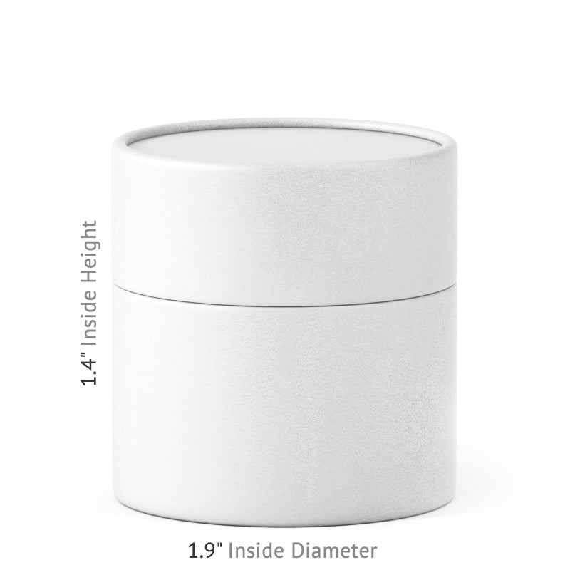 2 oz Paper Jar - White