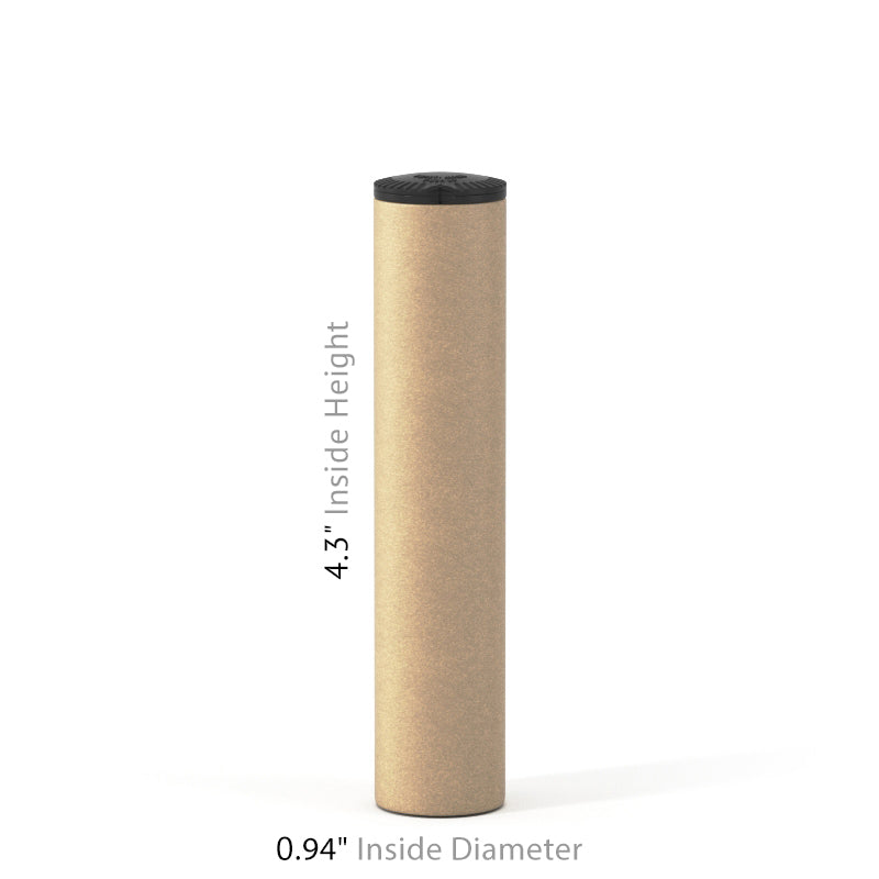 Child-Resistant Pre-Roll Single Tube (1PC) - Kraft