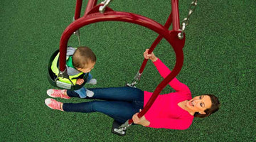 Expression Swings: The Benefits of Mommy and Me Swings