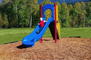 Four Foot Flow Slide - Playground Experts