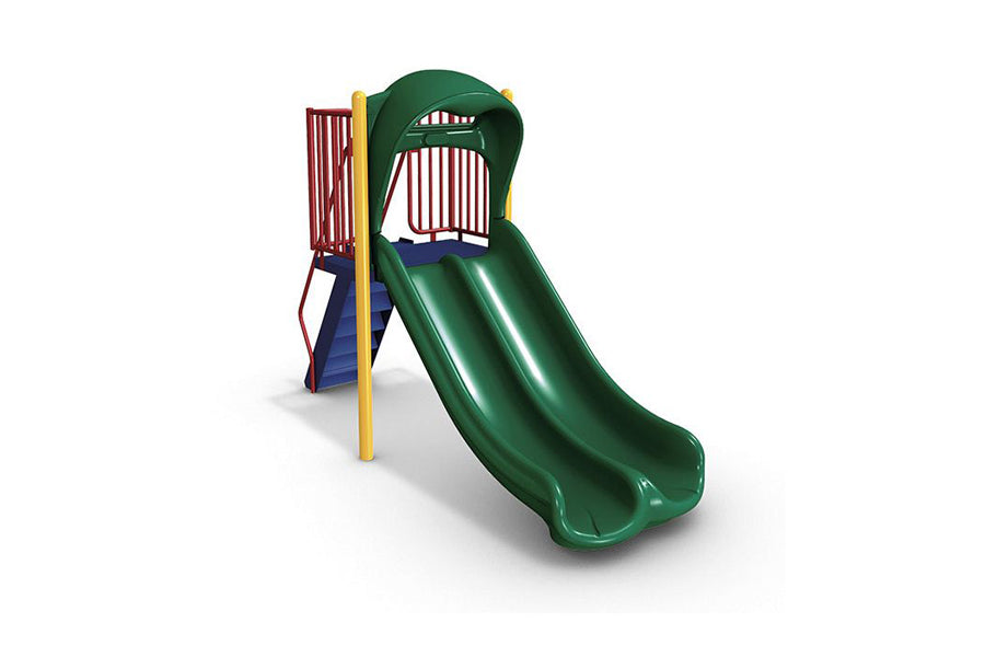 Double Zip Slide - Playground Experts