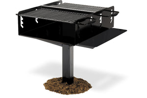 Bi-level Group Grill