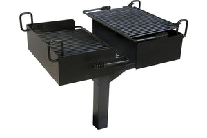 Commercial Grill - Playground Experts