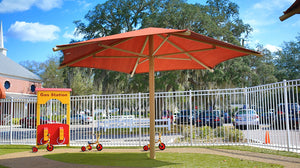 Hexagon Umbrella - Playground Experts