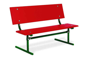 Kiddie Park Bench - Playground Experts