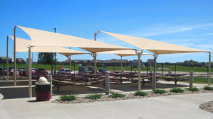 Park Furnishings - Kite Sail Shade
