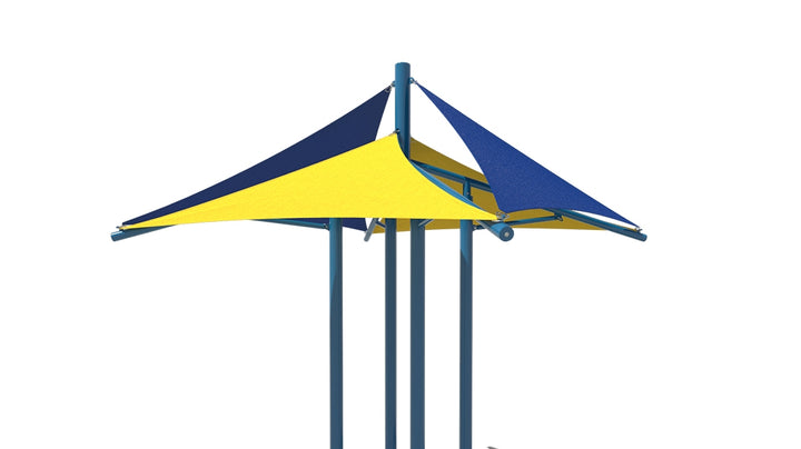 Modular Quad Sail Shade