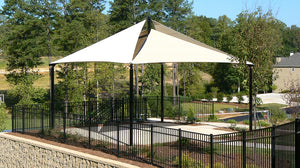 Park Furnishings - Quad Sail Shade