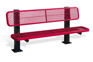 Bollard Style Bench - Playground Experts