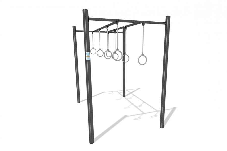 Trapeze Rings - Playground Experts