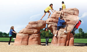 Sandstone Boulder - Medium - Playground Experts