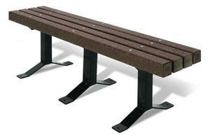 Recycled Bench without Back - Playground Experts