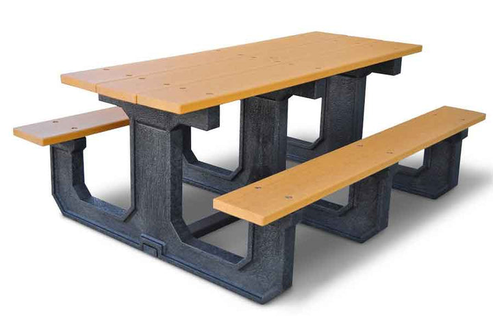 100% Recycled Picnic Table - Playground Experts