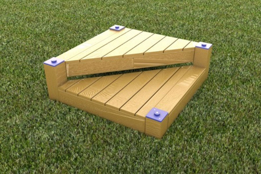 Climb & Sit Platform - Playground Experts