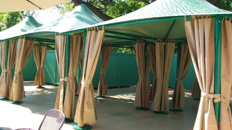 Waterproof Cabana - Playground Experts