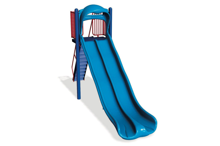 Double Wave Zip Slide - 7' - Playground Experts