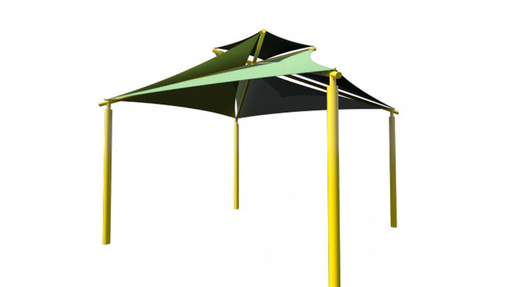 Pinwheel Shade - Playground Experts