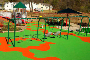 Poured in Place Rubber - Playground Experts