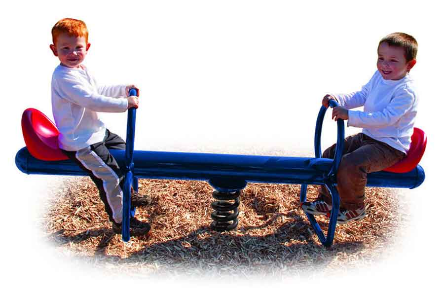 Spring Has Sprung See Saw - Playground Experts