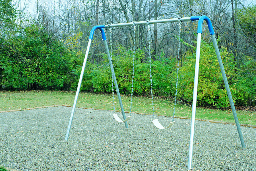 Single Bay Swing Set - Playground Experts
